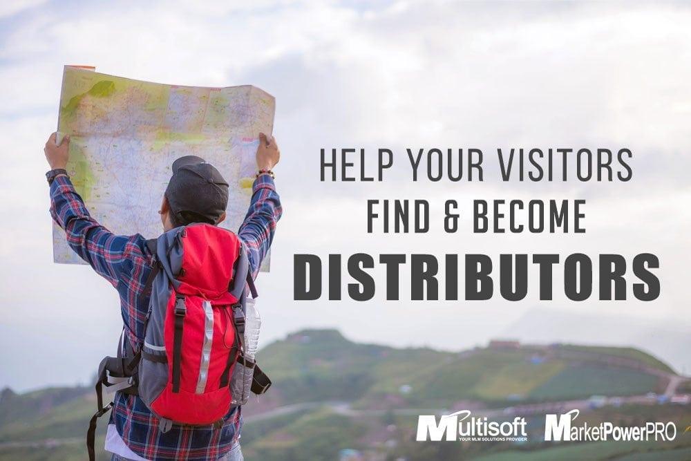 How to recruit Distributors