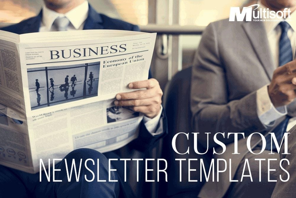 MLM Newsletter Templates